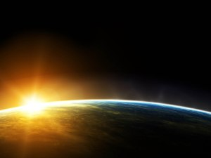 Sunrise In Space Wallpapers 2